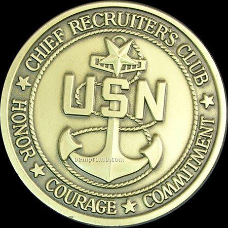 """Custom Coin/ Medal/ Medallion (2-1/4""""X.125)"""