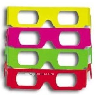 Laser Amazer Cardboard Glasses