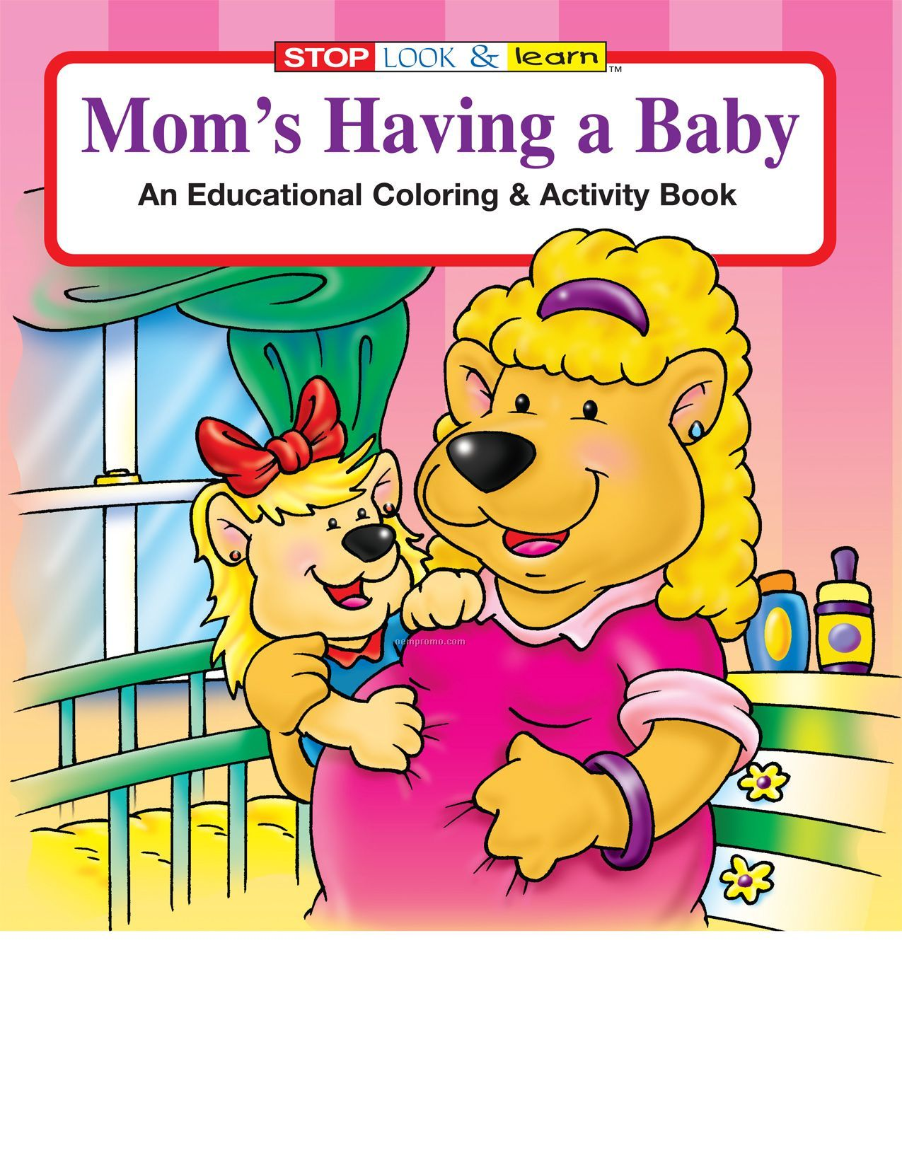 Mom's Having A Baby Coloring Book Fun Pack