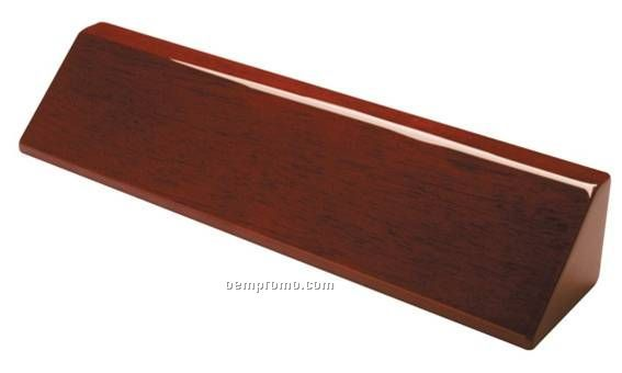"""Name Plate Wedges - Rosewood 2"""" X 10"""""""