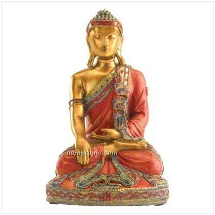 Seated Buddha Figurine
