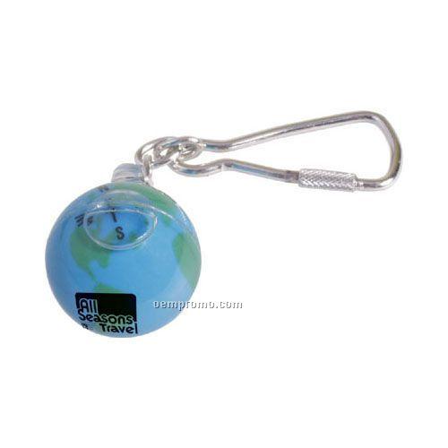 World Compass Key Ring
