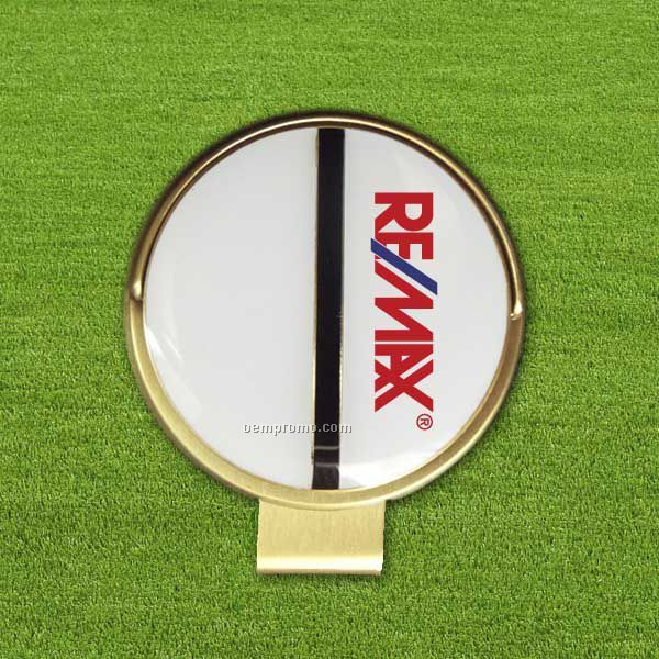 Alignment Ball Marker With Hat Clip