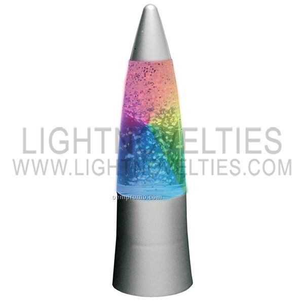 Glitter Rainbow LED Light Up Lamp