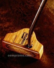 In 1 Hardwood Putter - The Falcon (Dark Cocobolo)
