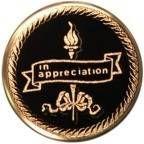 """Mylar - 2"""" In Appreciation"""
