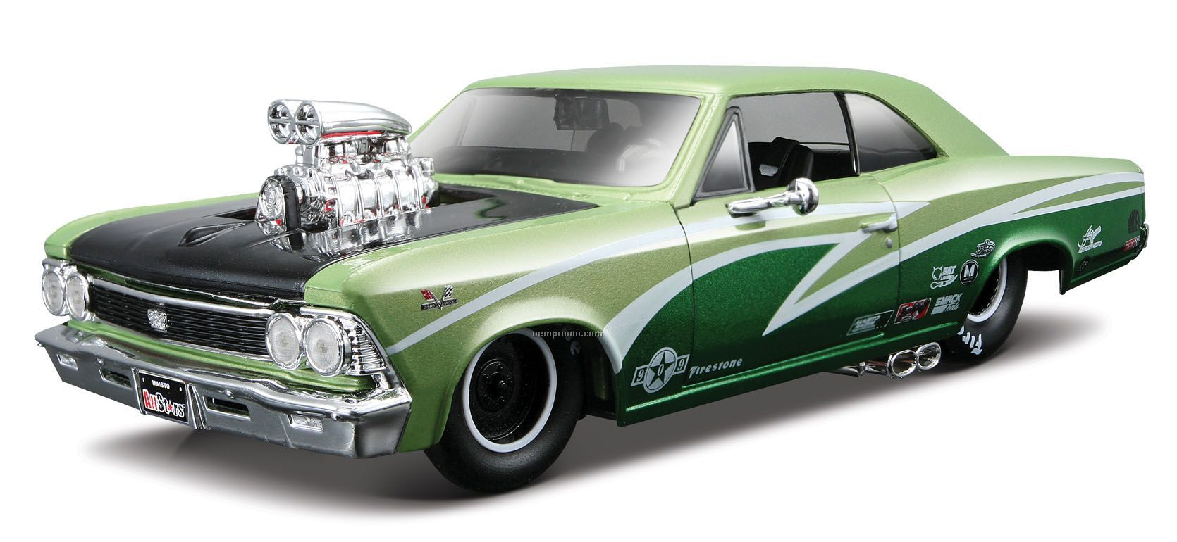 7x2 1 2x3 1966 Chevrolet Chevelle Ss 396 Die Cast Carchina Chevy
