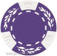 Blank 2-tone Crown-wheatear Poker Chips