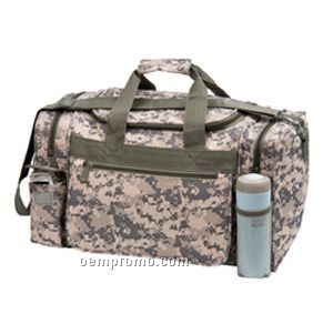Digital Camo U-shaped Duffle Bag
