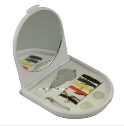 Sewing Kit W/ Mirror