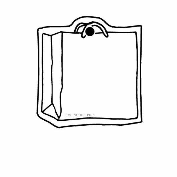 Stock Shape Collection Shopping Bag Key TagChina