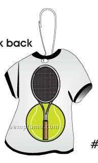 Tennis Ball And Racket T-shirt Zipper Pull