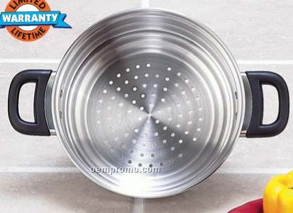 Chef's Secret Surgical Stainless Steel Graduated Steamer