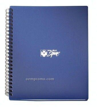 Double Spiral Bound Polypropylene Notebook