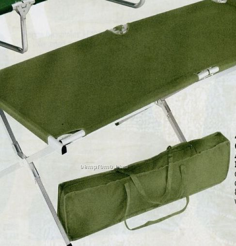 Gi Type Military Olive Green Drab Oversized Aluminum Folding Cot