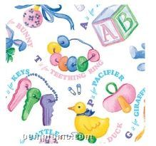 """Baby Things Stock Design Gift Wrap Roll (833'x18"""")"""