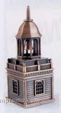 Bronze Metal Pencil Sharpener - Church Steeple