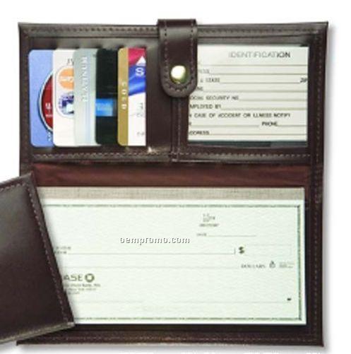 taliano standard checkbook   register holder china