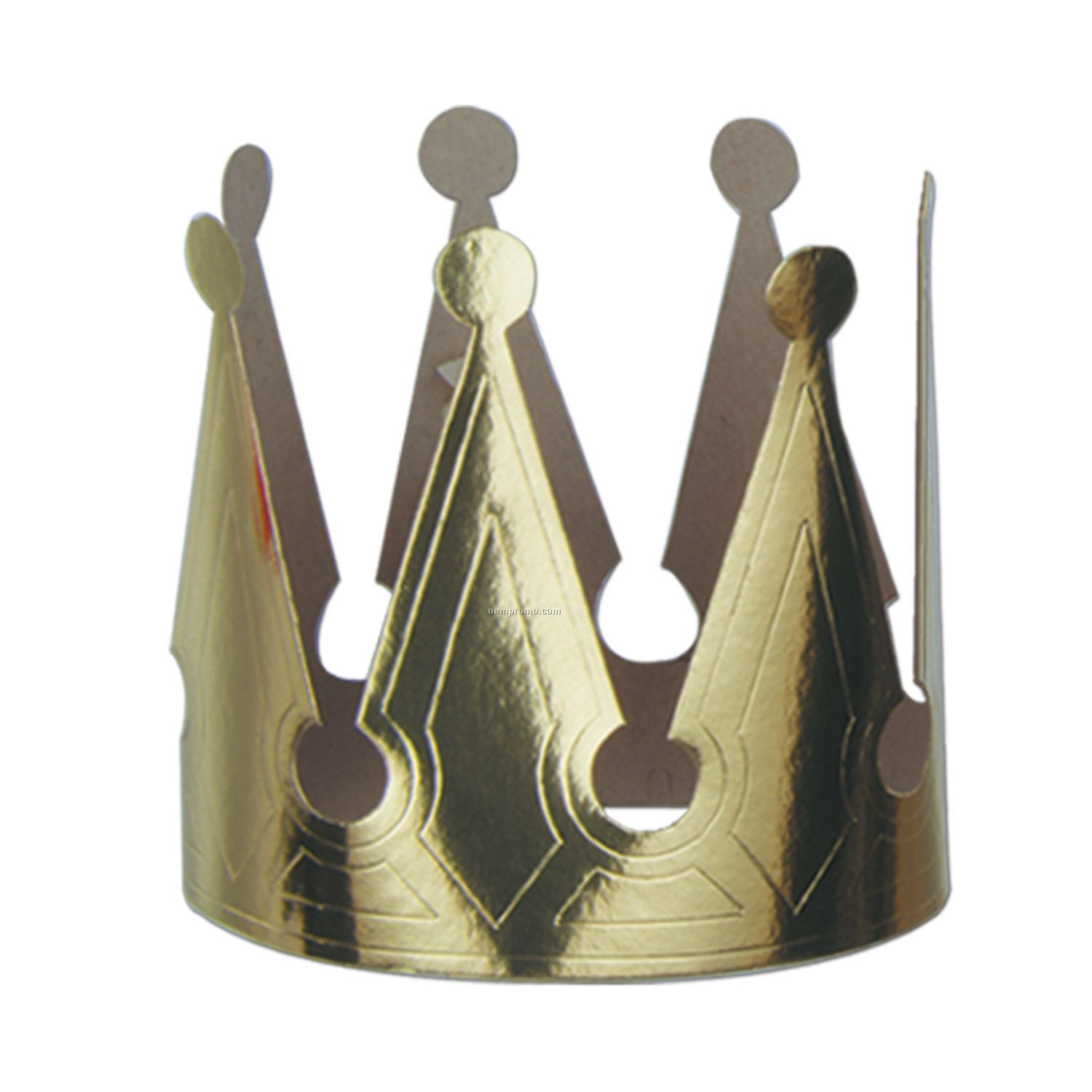 Gold Foil Kings Crowns