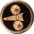 "Mylar - 2"" Cheerleader"