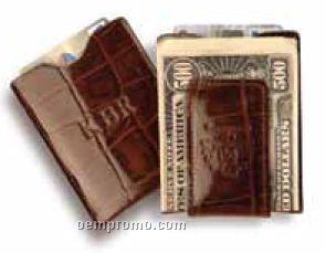 The Junior Premium Leather Money Clip