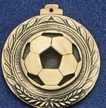 """1.5"""" Stock Cast Medallion (Soccer Ball)"""