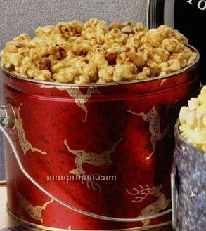 2 Gallon Cheese Designer Popcorn Tin