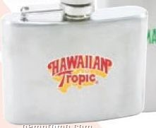 4 Oz. Stainless Steel Hip Flask