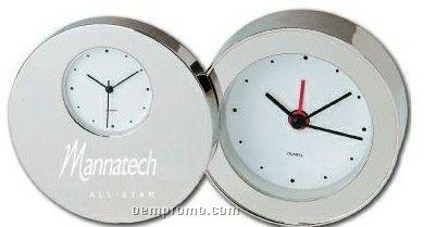 Elegance Dual Time Alarm Clock