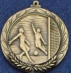 "2.5"" Stock Cast Medallion (Soccer/ Female)"