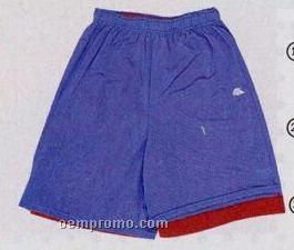 "Adult Dazzle 9"" Reversible Shorts (Xxl)"