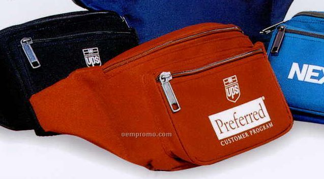 """Deluxe Fanny Pack (10""""X5 1/2""""X4"""")"""