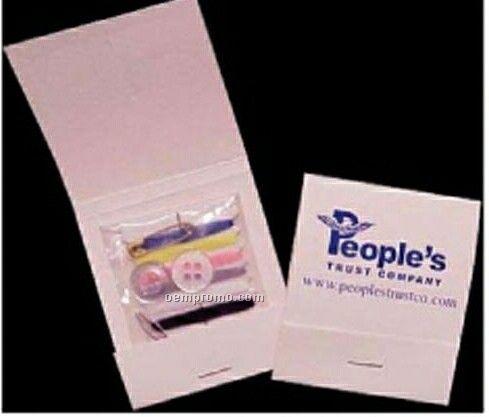 Sewing Kit In Matchbook Folder (1 Color)