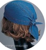 Washed Denim Kerchief