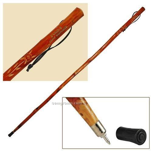 "60"" Wooden Hiking Stick"