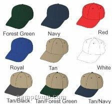 Baseball Cap, Made In The Usa, Embroidered, Unstructured