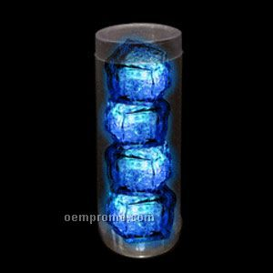 Blue 3-mode Light Up Ice Cubes 4 Pack