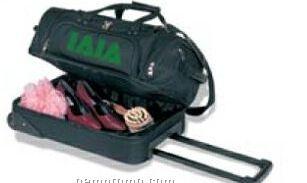 Rolling Duffel Bag W/ Suitcase