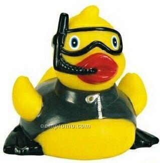 Rubber Snorkeling Flipper Duck