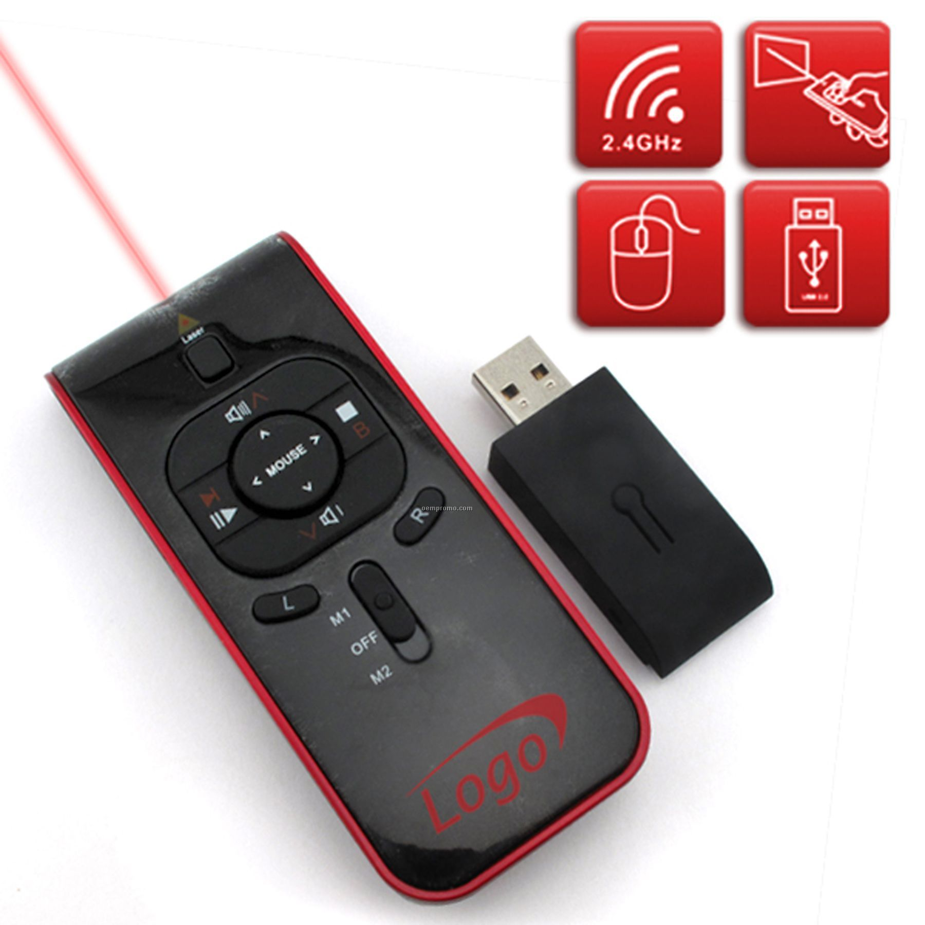 2 Gb Multimedia Wireless Presenter
