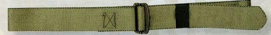 "Olive Green Drab Adjustable Nylon Battle Dress Uniform Belt (44"")"