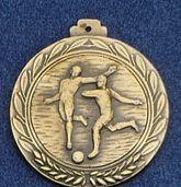 """2.5"""" Stock Cast Medallion (Soccer/ General)"""