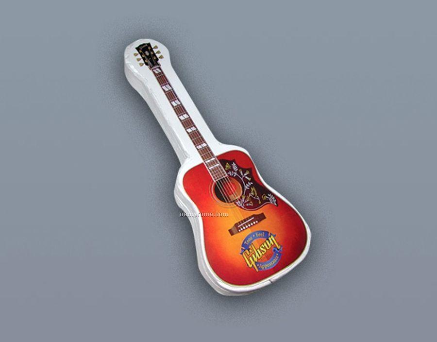 Compressed 100% Cotton T-shirt Guitar Stock Shape (S-xl)