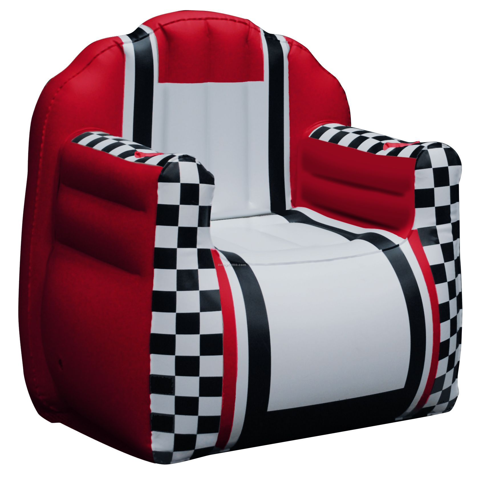 Inflate A Seat Quot Chair Quot Red White Black With Checkered