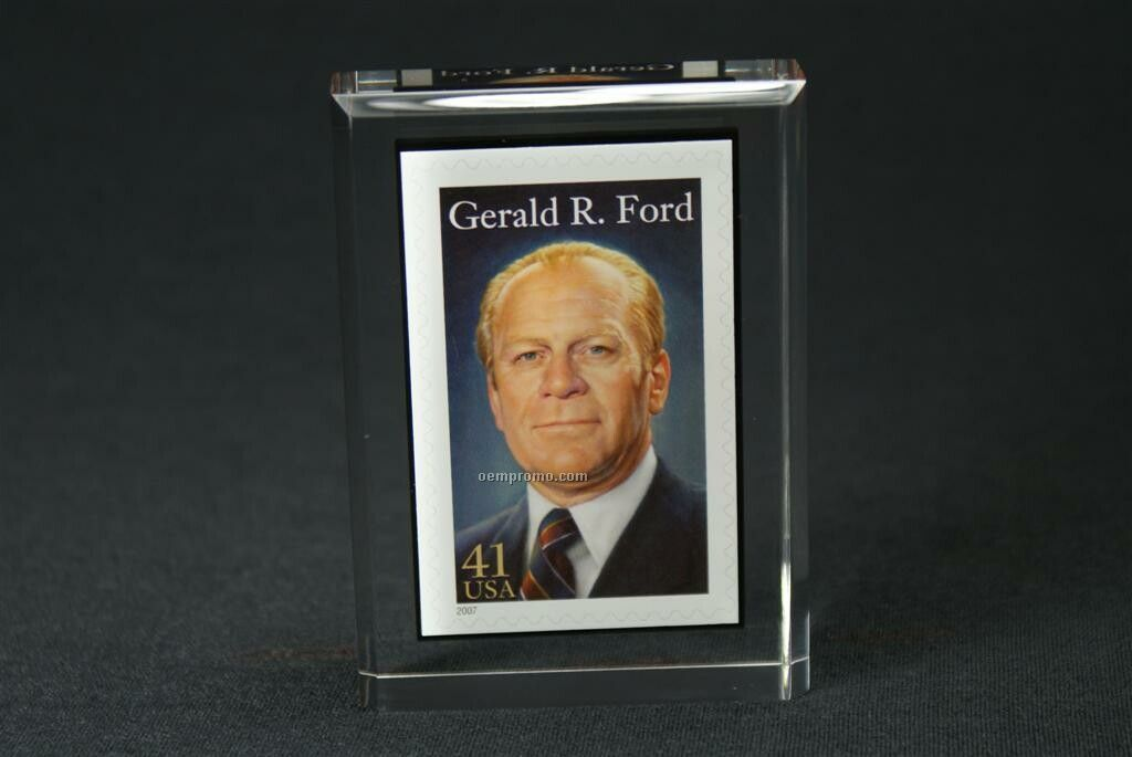 "Lucite Rectangle Embedment Award (2""X3""X7/8"")"