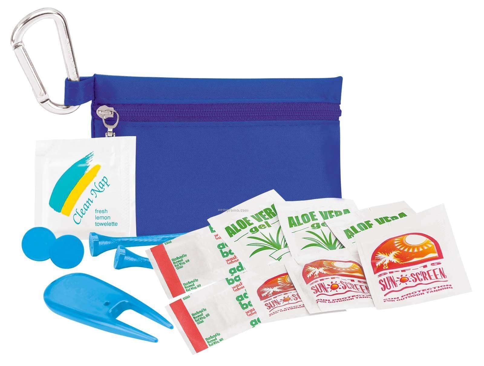 Tee Off Golfer's Sun Protection Kit Value Pak