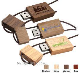 Blocco Wood USB Flash Drive (1 Gb)