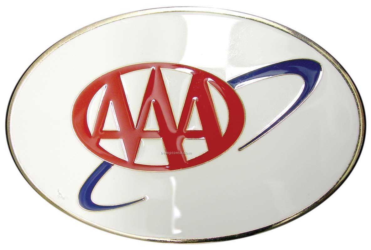 "Soft Or Hard Enamel Car Badge (4"")"