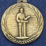 "2.5"" Stock Cast Medallion (Public Speaking)"