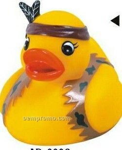 Rubber Indian Duck Toy